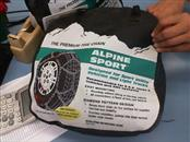 ALPINE SPORT TIRE CHAINS Other Vehicle Part TIRE CHAINS
